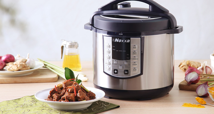 Noxxa Electric Multifunction Pressure Cooker Rendang Recipe