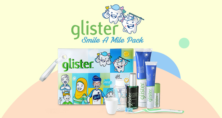 GLISTER Smile A Mile Pack 1